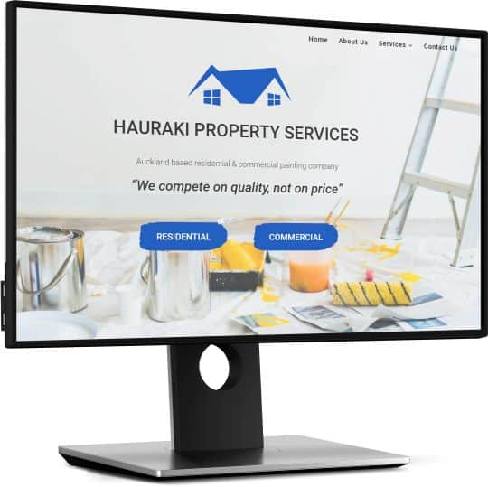 desktop website hsp screen